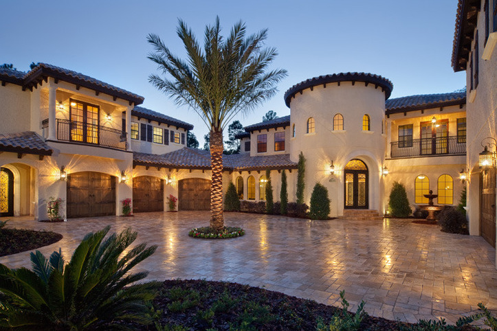 Mediterranean mega mansion luxury dream estate for sale in fl Mediterranean home decor for sale