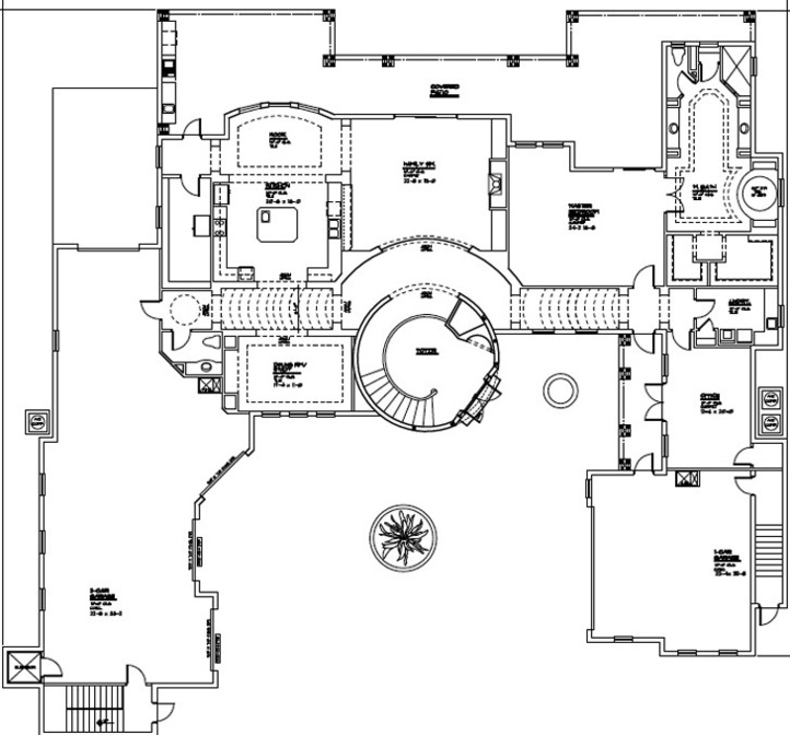 Mediterranean mega mansion luxury dream estate for sale Mega mansion floor plans