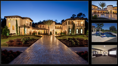 New construction newly built luxury homes for sale in for Designer homes of central florida