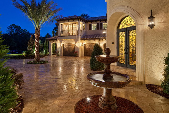 Mediterranean Mega Mansion Luxury Dream Estate For Sale
