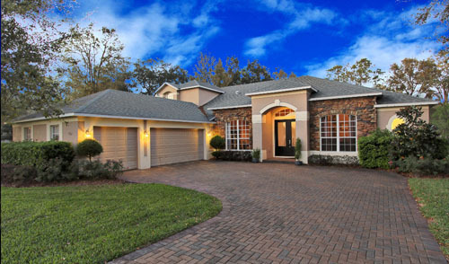 Top 10 most affordable luxury homes in central florida for Best home builders in south florida